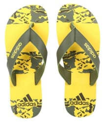 Adidas Yellow Daily Slippers
