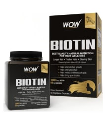WOW Life Science Biotin Capsule 60 no.s