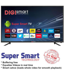 DIGI SMART DIGI-32_SMART 80 cm (32) Full HD (FHD) LED Television With 1+1 Year Extended Warranty