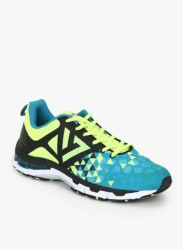 Blue Mesh S16M151-Mosaic Blue/Lime Punch/Blk-5132761 Regular Running Sports Shoes