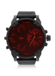 Dz7402 Black/Red Chronograph Watch