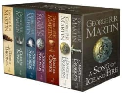 GAME OF THRONES: THE STORY CONTINUES: 7 Book Boxset (English, Paperback, George R.R. Martin)