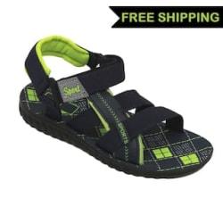 SVAAR Black Sandals For Boys