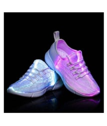 Multicolor Light Changing Party Shoes for Kids