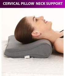 Samson Cervical Pillow Regular Neck Support -(Free Size)