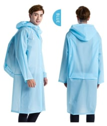 Kamalife Blue Rain Coat
