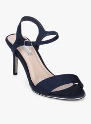 Selina Navy Blue Stilettos