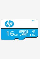 HP Micro SDHC 16 GB Class 10 Memory Card (Blue)