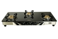SAFELINE SL-3B-Square 3 Burner Manual Gas Stove