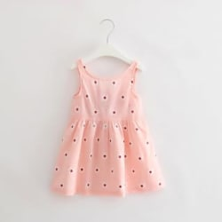 SUGAR_RUSH Pretty Girl s Print Dress With Cute Bowknot