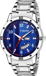Tarido TD1964SM04 Standard Day & Date Watch - For Men