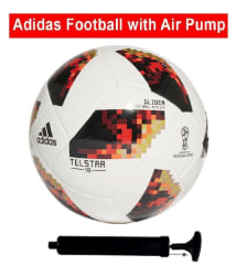 Adidas Telstar World Cup Football Size - 5 With Pump