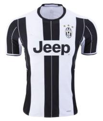 Juventus Ronaldo Home Jersey Black & White