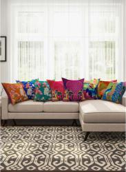 (Set of 8) Multicoloured Cushion Covers