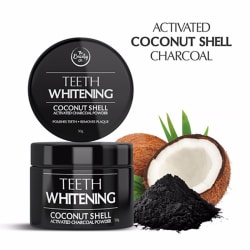 The Beauty Co. Activated Coconut Shell Charcoal Instant Teeth Whitening Powder 50 gm