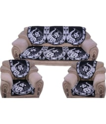 Styletex 5 Seater Cotton Set of 6 Sofa Cover Set