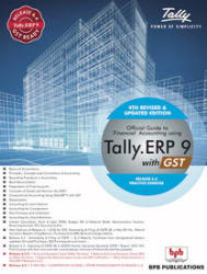 Official Guide to Financial Accounting Using Tally. ERP 9 with GST (Paperback)
