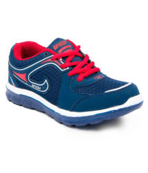 Asian Navy Blue Sports Shoes For Kids