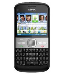 CERTIFIED USED Nokia E5 256 MB Black RAM- ( 6 Month Seller Warranty )