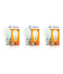Wipro 10W (Pack of 3) Led Bulb 6500K Cool Day Light)