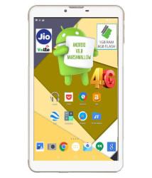 I Kall N4 - 8GB VoLTE White ( 4G + Wifi , Voice calling )