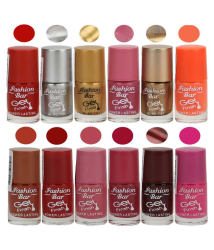 Fashion Bar Nail Polish Exclusive Color Range Set of 77 Matte 60 ml