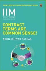 Contract Terms Are Common Sense- IIMA Series (Paperback)