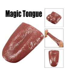 Twinsrabbit Kuso Tongue Tricky Magic Horrible Tongue Fake Tongue Realistic Elasticity Toy Prank Toys