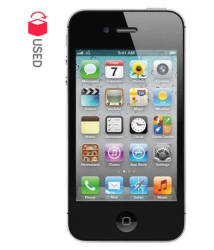 CERTIFIED USED Apple iPhone 4s ( 16GB , Black , 512 MB , 6 Months Warranty Bazaar Warranty )