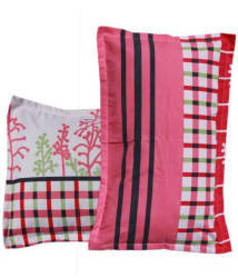Panipat Textile Hub Pack of 2 Pink Pillow Cover