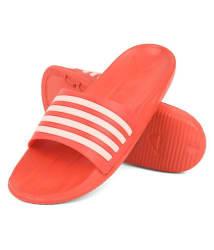 DRUNKEN Red Slide Flip flop