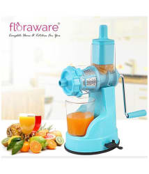 Floraware Plastic Fruit and Vegetable Juicer, White