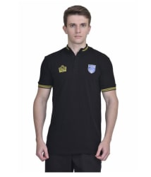 Admiral Black Cotton Polo T-Shirt