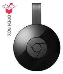 Open Box Google Chromecast 2 Media Streaming Device Streaming Media Players 6 Month Brand Warranty