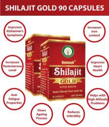 Deemark Shilajit Gold 90 Capsules