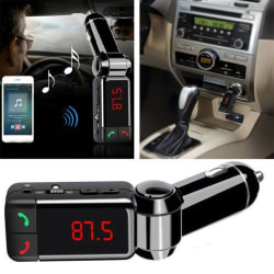 High Performance Digital Dual Port Wireless Bluetooth Car Charger (5V, 2A) FM Transmitter, In-car Bluetooth Receiver, Car Mp3 Player with Bluetooth Hands free Calling