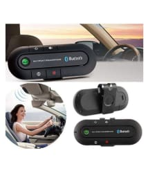 Multipoint Speakerphone 4.1 + EDR Wireless Bluetooth Handsfree Car Kit MP3 Music Player for SmartPhone, iPhone, Android phones