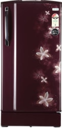 Godrej 185 L Direct Cool Single Door 3 Star Refrigerator (Galaxy Wine, RD 1853 PM 3.2 Muziplay)