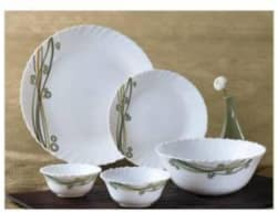 Laopala Velvet Curves Pack of 27 Dinner Set Opalware