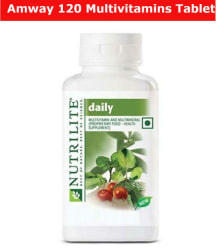 Amway amway nutrilite daily 120 1 gm Multivitamins Tablets