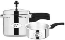 Leo Natura Eco 3 L, 2 L Pressure Cooker Aluminium
