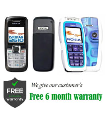 CERTIFIED USED Nokia 2610 Get Nokia 3220 ( 32 MB , Black , , 6 Month Seller Warranty )
