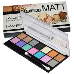Mars Imported Matte The Modern Collection Palette-02 Eye Shadow Pressed Powder Colours 18 gm