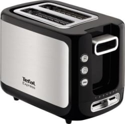 Tefal Express 850 W Pop Up Toaster Black / Stainless Steel