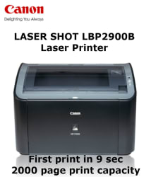 Canon Lasershot Printer-LBP 2900B