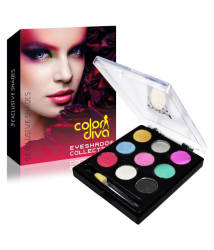 Color Diva Eyeshaow Collection 9 Exclusive Shades
