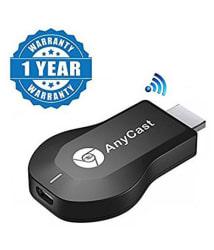 Battlestar AnyCast M2 Plus Mini Wi-Fi Display Dongle Miracast Receiver & Transmitter - Black
