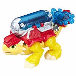 Playskool CSQ Dino Rider Firefighter Preschool Figure and Playset