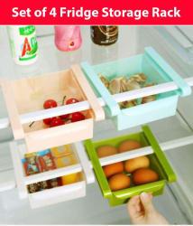 Vittamix 4 Pcs Fridge Storage Unbreakable Drawer Multicolor Multicolor 4 Pcs