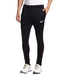 Nike Black Polyester Trackpant / Track Pant